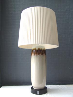 复古客厅陶瓷台灯 高档礼品灯具