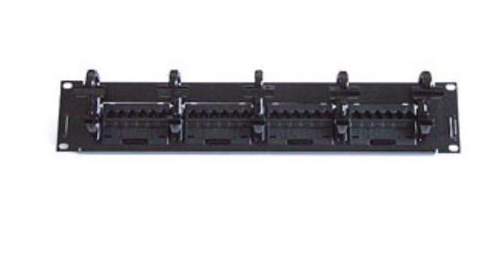 供应康普超五类24口(带理线环)网络配线架