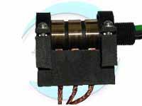 3路30A风电导电滑环,碳刷集电环,3道铜环风电滑环