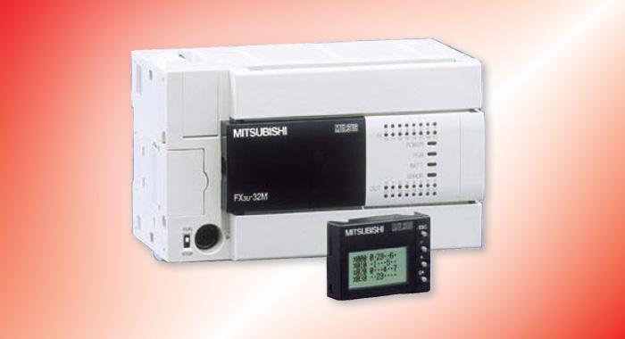 三菱FX3U系列PLC可编程控制器  第三代微型可编程控制器  内置高达64K大容量的RAM存储器  内置业界高水平的高速处理0.065S/基本指令  控制规模:16 ~ 384(包括CC-LINK I/O)点  内置独立3轴100kHz定位功能(晶体管输出型)  基本单元左侧均可以连接功能强大简便易用的适配器