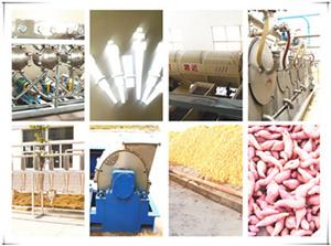 马铃薯红薯淀粉混合生产设备