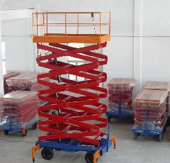 天助升降机械供应甘肃庆阳移动施工升降货梯车载升降机