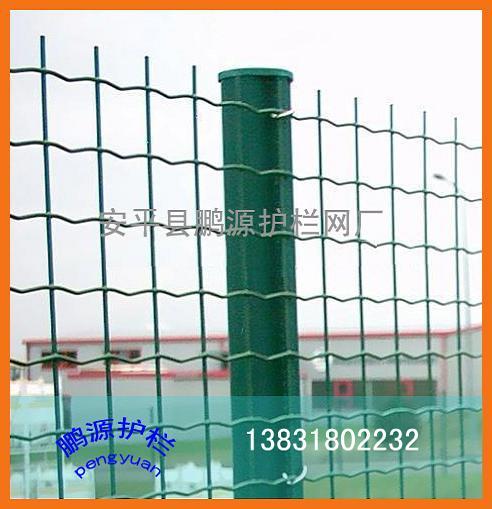 涂塑焊接网,荷兰网围网,波浪型围栏网,护栏网,荷兰网围墙
