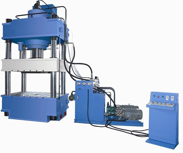 山东金属拉伸成型四柱液压机,315吨四柱三梁油压机