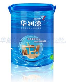 华润纯净味水性木器半光清面漆JKW105-1L单价70元