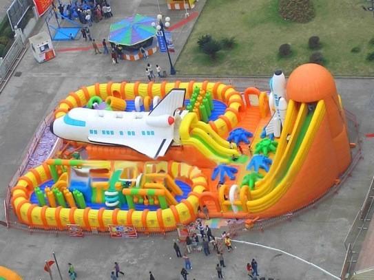 大型充气玩具太空基地