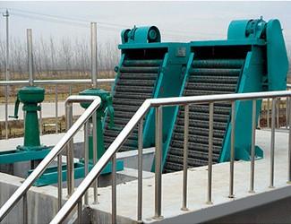 旋转式格栅除污机污泥处理设备