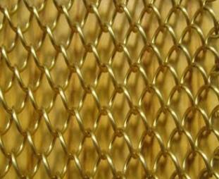 装饰用的金属窗帘哪里生产/金属窗帘一平米多少钱