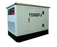 水冷型汽油发电机 15KW静音汽油发电机组