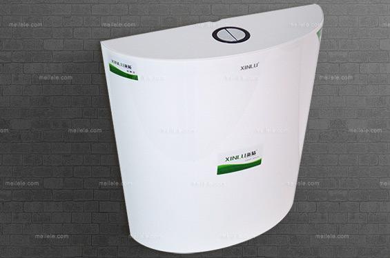 [新陆] 现代风格 挂墙式水箱 节水型静音塑料pp蹲便器水箱