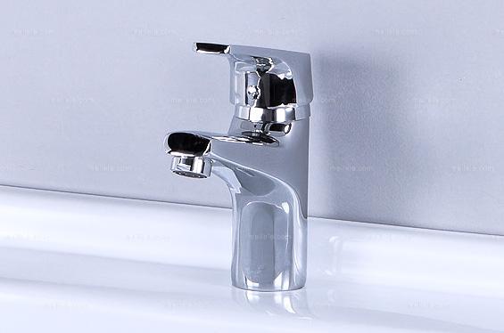 [庄圆卫浴] 现代风格 座式单孔面盆水龙头