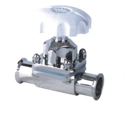 进口卫生级隔膜阀|卫生级快装隔膜阀|316L隔膜阀|进口不锈钢隔