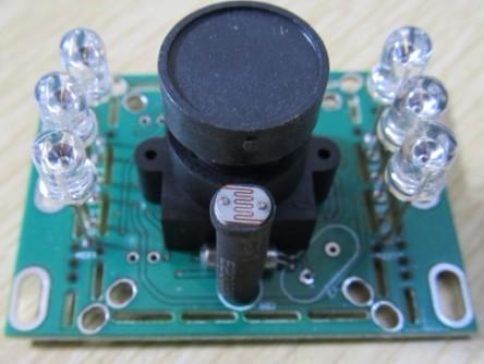 彩色CMOS高清门口机摄像头 可视门铃专用
