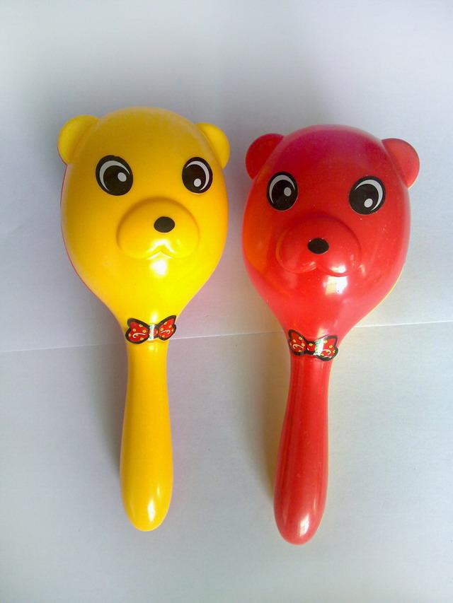 摇铃BB锤可作奶粉尿片等婴幼儿童品牌用品赠品广告促销礼品
