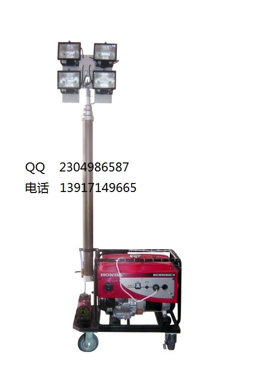QF280轻便发电机照明装置 (SFW6110B全方位自动泛光工