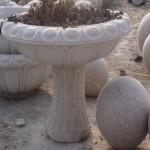 园林石雕花盆,石桌石凳等