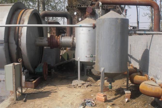 高效催化裂解法制取生物柴油技术