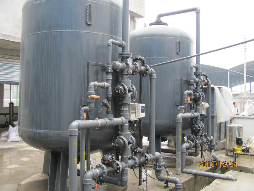 水处理工程建设-四川洁明公司供应自来水过滤器