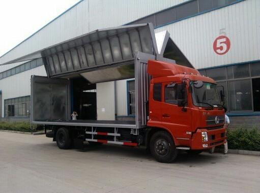 7米6厢长的东风飞翼车