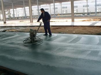 滨州邹平金刚砂耐磨地坪材料10年专业水准
