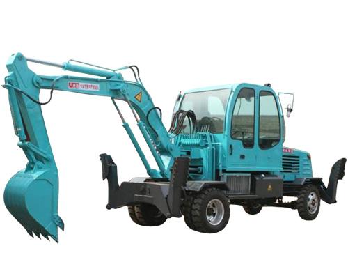 供应小型轮式挖掘机
