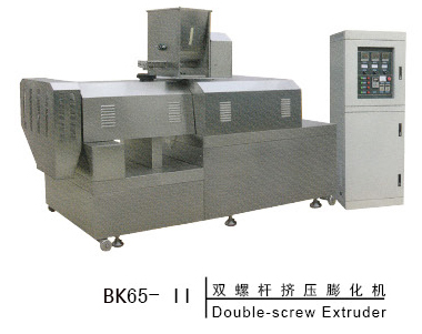 双螺杆挤压膨化机BK65