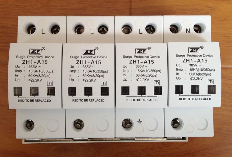 一级10/350波形浪涌保护器 Iimp12.5ka电源浪涌保护