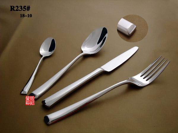 欧美经典高级不锈钢24件套西餐刀叉 牛排刀 精美礼品餐具