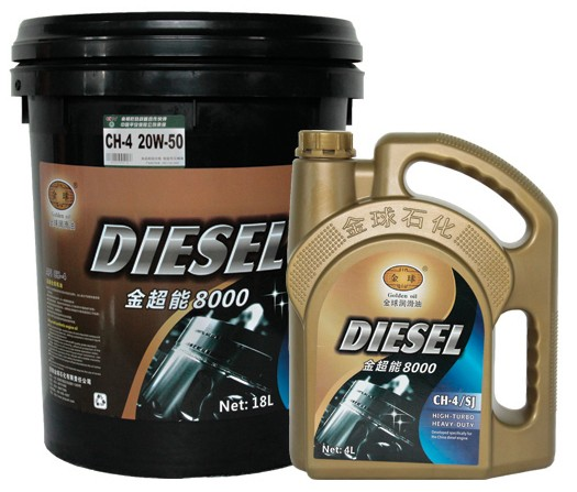 金超能8000 高级汽柴通用发动机油