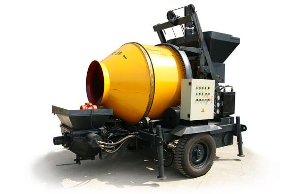 混凝土搅拌输送一体泵搅拌拖泵(农建专用)