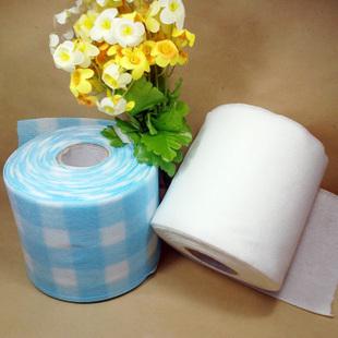 不起球的卷筒美容巾/洗面柔巾卷 /洗脸巾/洁面巾