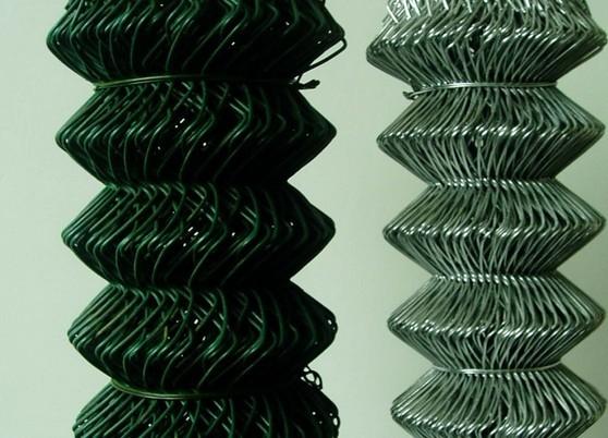 手工编织勾花网 勾花网机算公式 包塑勾花网