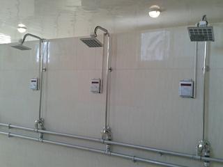 北京学校工厂澡堂计费打卡水控机河北学校单位浴室刷卡收费水控器