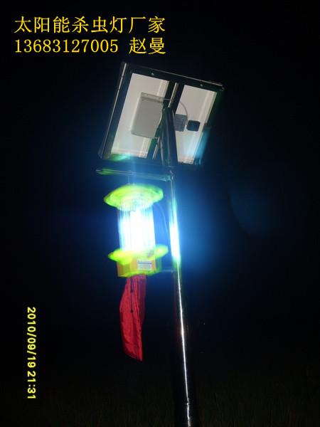 稻田地太阳能杀虫灯