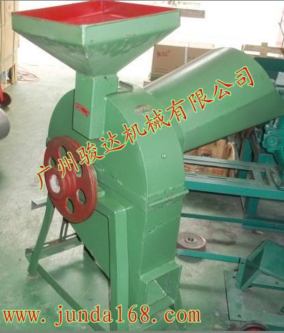 铡草粉碎机 单相电小型多功能铡草粉碎打浆机