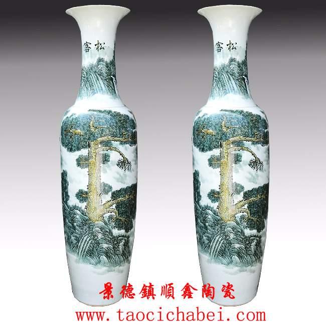 大花瓶,陶瓷大花瓶,景德镇陶瓷大花瓶,大花瓶图片