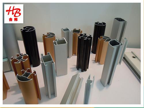 精品展示柜 展示柜型材 合邦钛合金材料