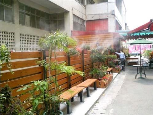 深圳酒吧门口喷雾降温|活动场所专用喷雾造景设备厂家
