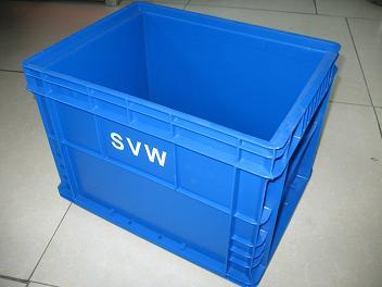 供应欧洲标准汽车行业塑料物流箱上海