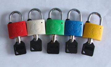 电力表箱通用锁,梅花塑钢锁