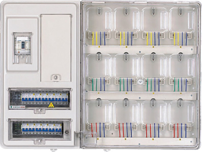 国网预付费电表箱,透明电表箱电子式