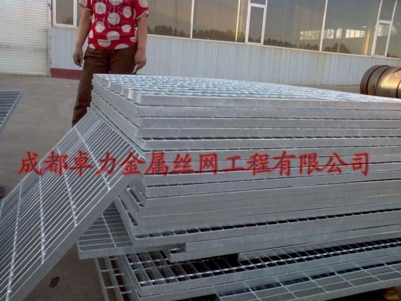 热浸锌钢格栅板