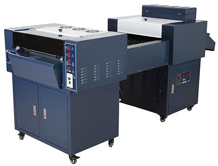 供应广东江门高科20寸加长式淋膜机/首台最好淋膜机
