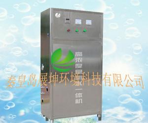 威海水产品加工用高浓度臭氧水机