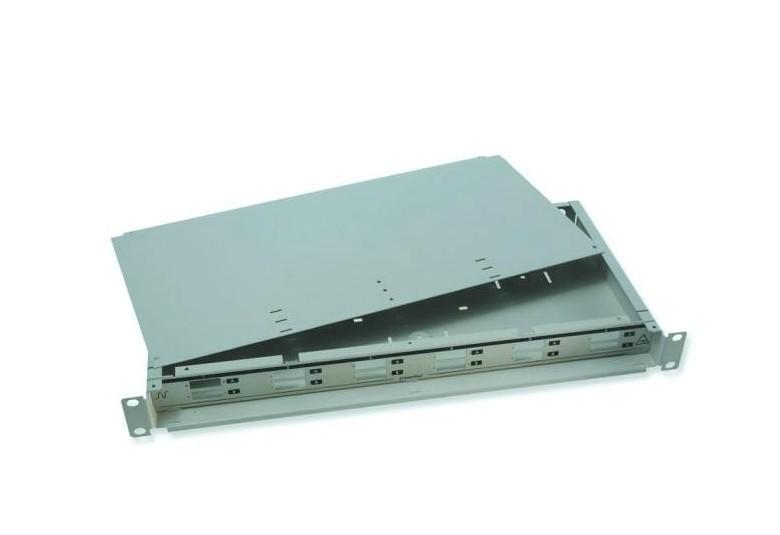 Nexans耐克森24口抽屉式光纤配线架 LC光纤跳线盘终端盒