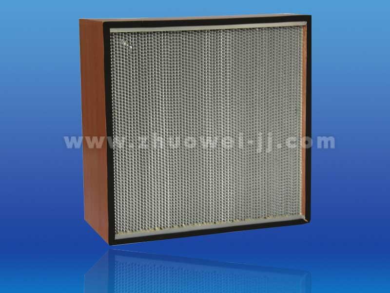 广东铝框铝箔隔板高效过滤器