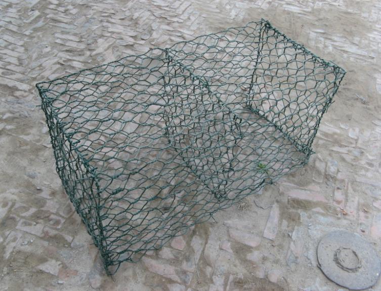 绿格网箱7.2元/平生态网箱包塑石笼网网箱