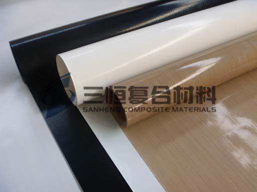 特氟龙耐高温漆布,铁氟龙焊布,太阳能层压机防粘隔离布,四氟玻纤布