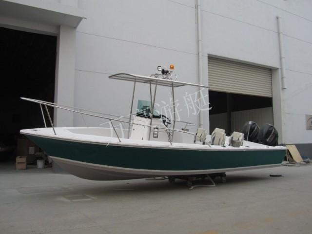 常州万豪698艇、休闲艇、钓鱼艇