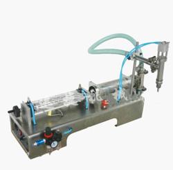 气动液体灌装机_卧式气动液体灌装机